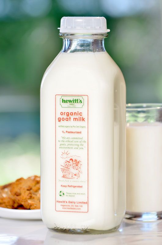 Examples of SUSTAINABLE dairy products - goat milk | My idea