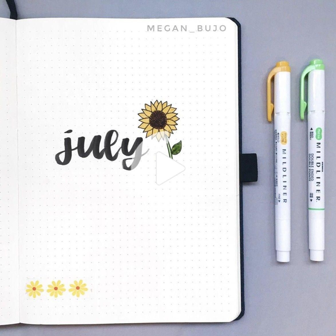 Best JULY Bullet Journal Ideas that You'll Love - The Smart Wander