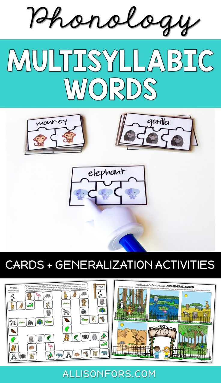 Premise Indicator Words: Multisyllabic Words Phonology For Speech Therapy