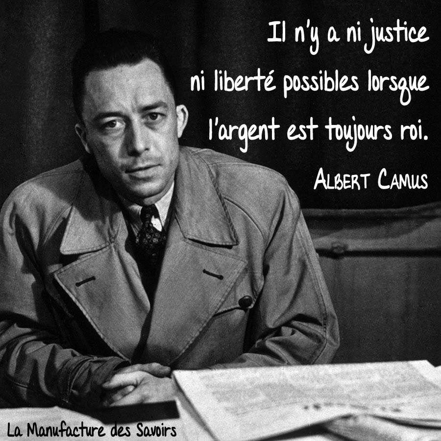 Albert camus quote about unique normal energy different - Albert Camus Il N Y A Ni Justice Ni Libert Possibles Lorsque L