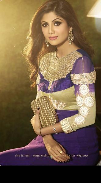 Gorgeous Long Purple Anarkali by Shilpa Shetty (6003) -  Gorgeous Long Purple Anarkali by Shilpa Shetty (6003)  - #anarkali #EmmaRoberts #FashionDesigners #Gorgeous #Long #Purple #Shetty #Shilpa #ShilpaShetty #VictoriaBeckham