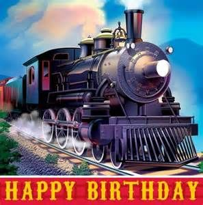 Happy Birthday Train Yahoo Image Search Results Coloring