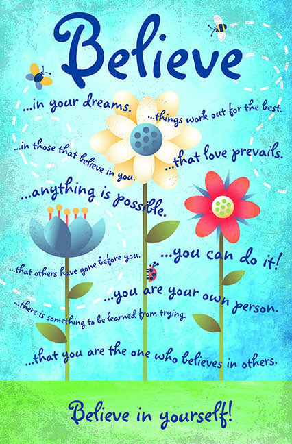 Motivational Quotes For Young Students: Motivational Poster For Kids Will Be Out This Summer