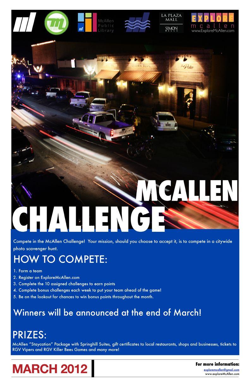 Photo Scavenger Hunt coming soon!!! Challenges, Mcallen