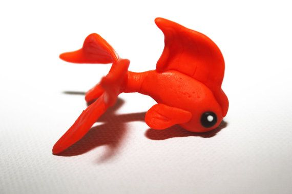 Doubletail Goldfish by MmeBulle on Etsy, $6.00