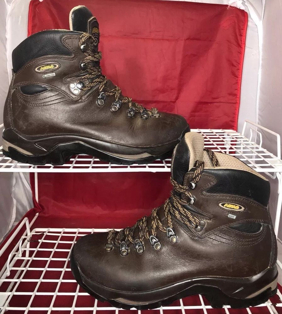 f6a7dabec3c Asolo TPS 520 GV Evo Gore Tex Vibram Hiking Boots Mens Sz 8 / Womens ...