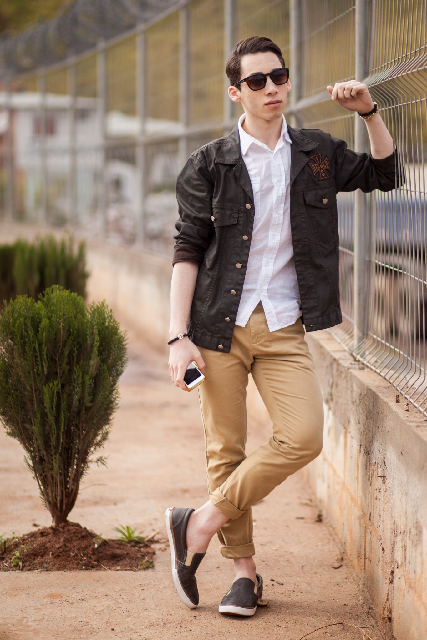 photo 12 Pro Tips for Men-How to Wear Black Shoes With Khaki Pants