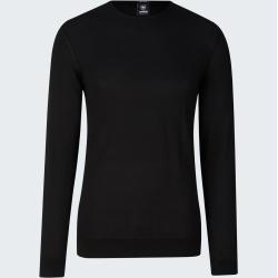 Photo of Vincent fine knit pullover, black Strellson