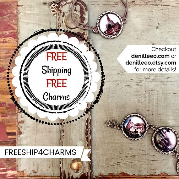 FREE Charms And FREE Shipping Spend 30 Or More To Receive