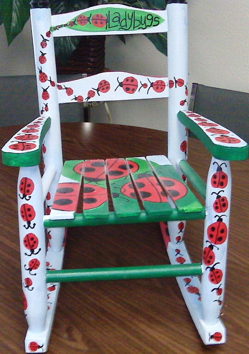 Rocking Chair Ladybug Infestation Chair Rocking Chair