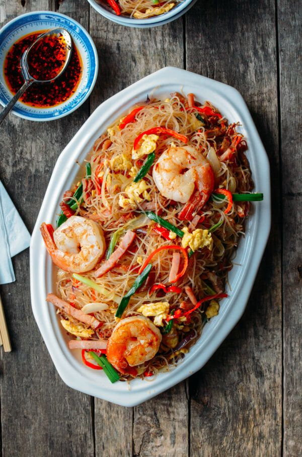 xiamen mei fun rice noodles  recipe  mei fun noodles