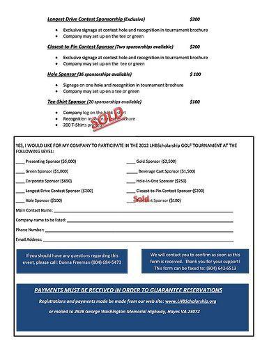 Sponsor opportunities back golf 2012 golf tournament sponsor opportunities thecheapjerseys Image collections