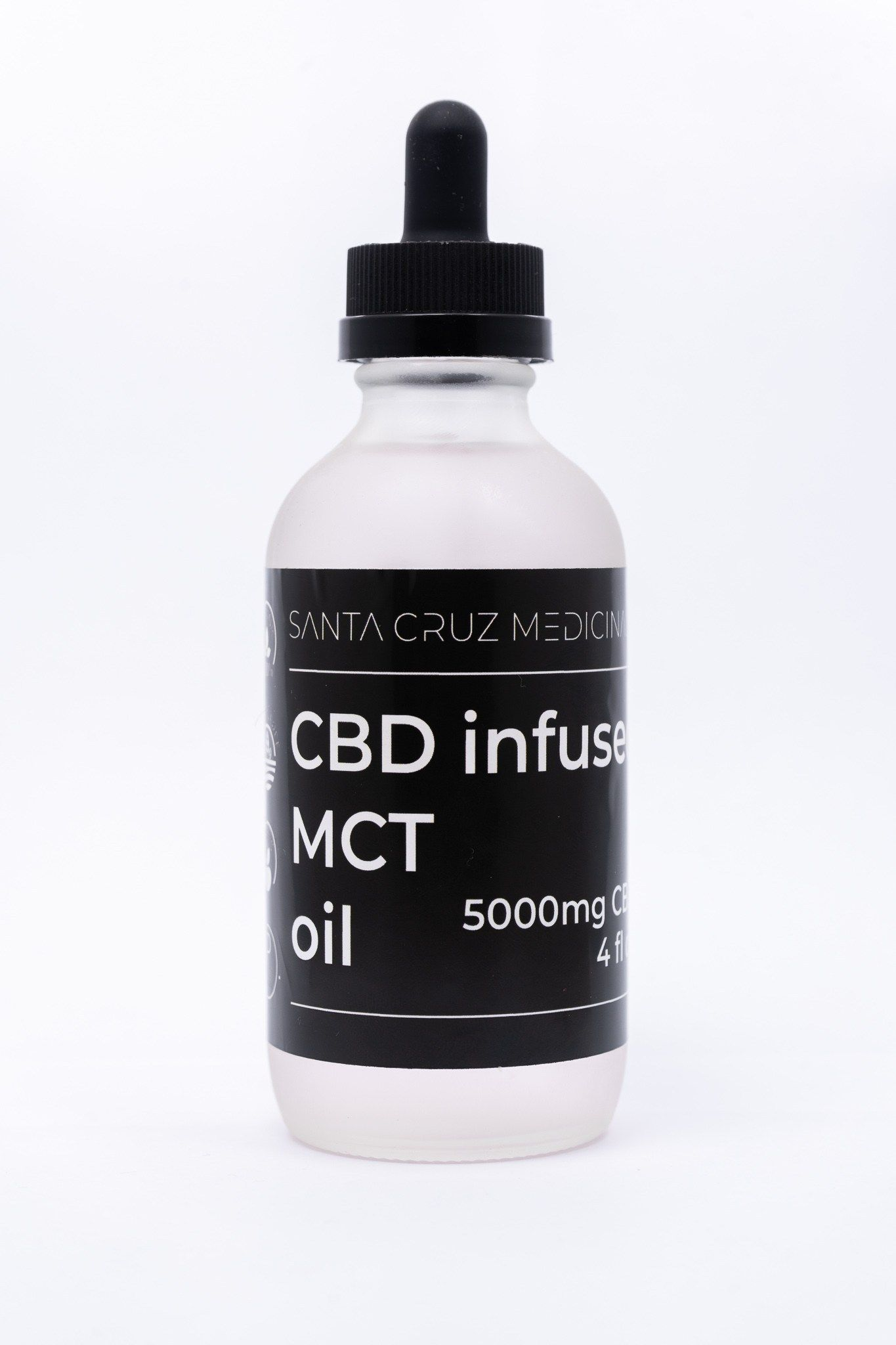 5000mg MCT Oil Santa Cruz Medicinals Mct oil, Mct, Oils