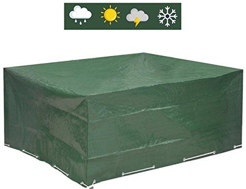 New heavy duty waterproof rotin meubles de jardin extérieur poussière uv housse de pluie