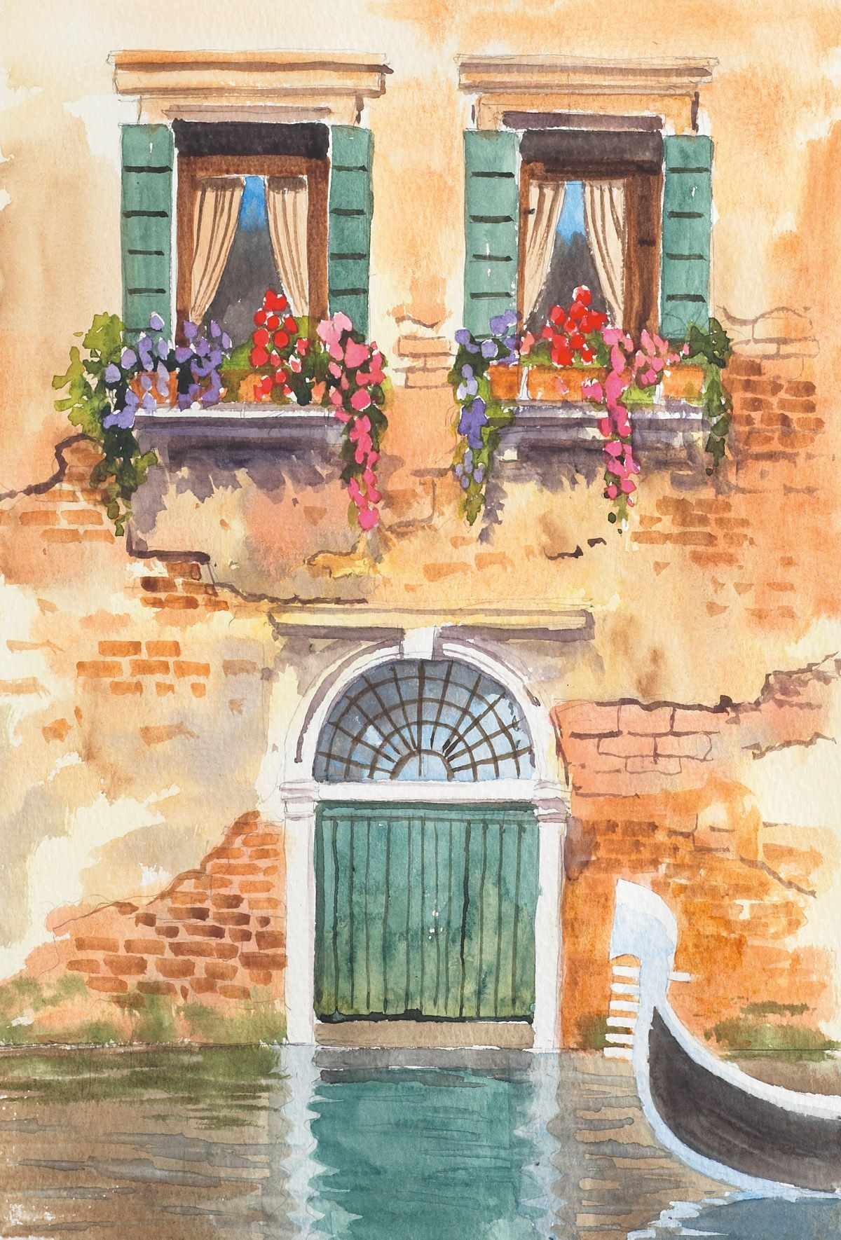 Painting Watercolour Landscapes The Easy Way Watercolor