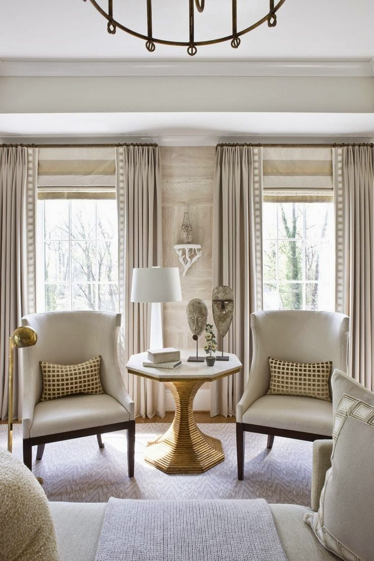 My Favorite Design Style Transitional Living Room Windows