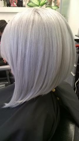 Formula Modern Silver Grey Hair Wig Hair Styles Hair