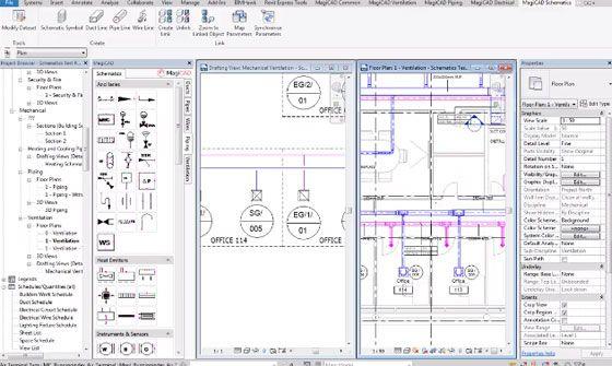 MagiCAD Schematics, a new schematic design module that can perform ...