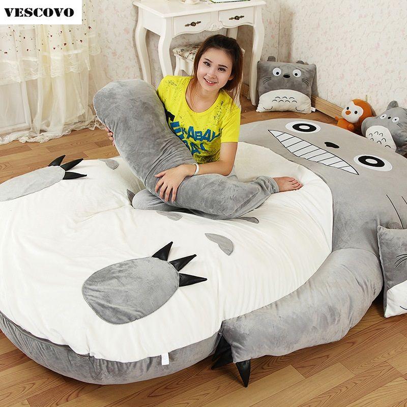 Totoro Cartoon Tatami-matten Matratze Kissen Plüsch Matratze Pad - stuhl für schlafzimmer