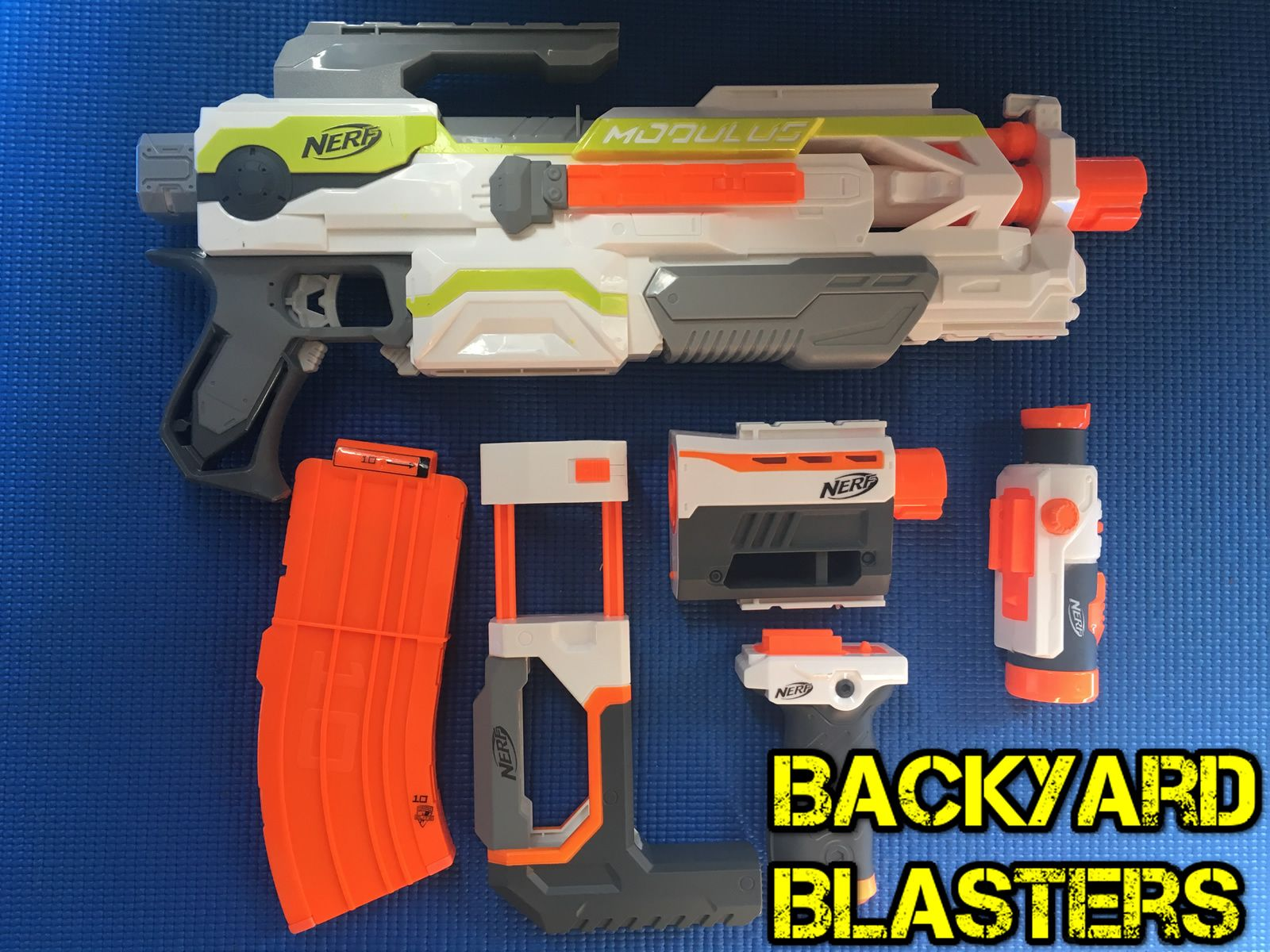 Name the blaster - comment down below! #nerf #nerfwar #nerfgun #nerfwars