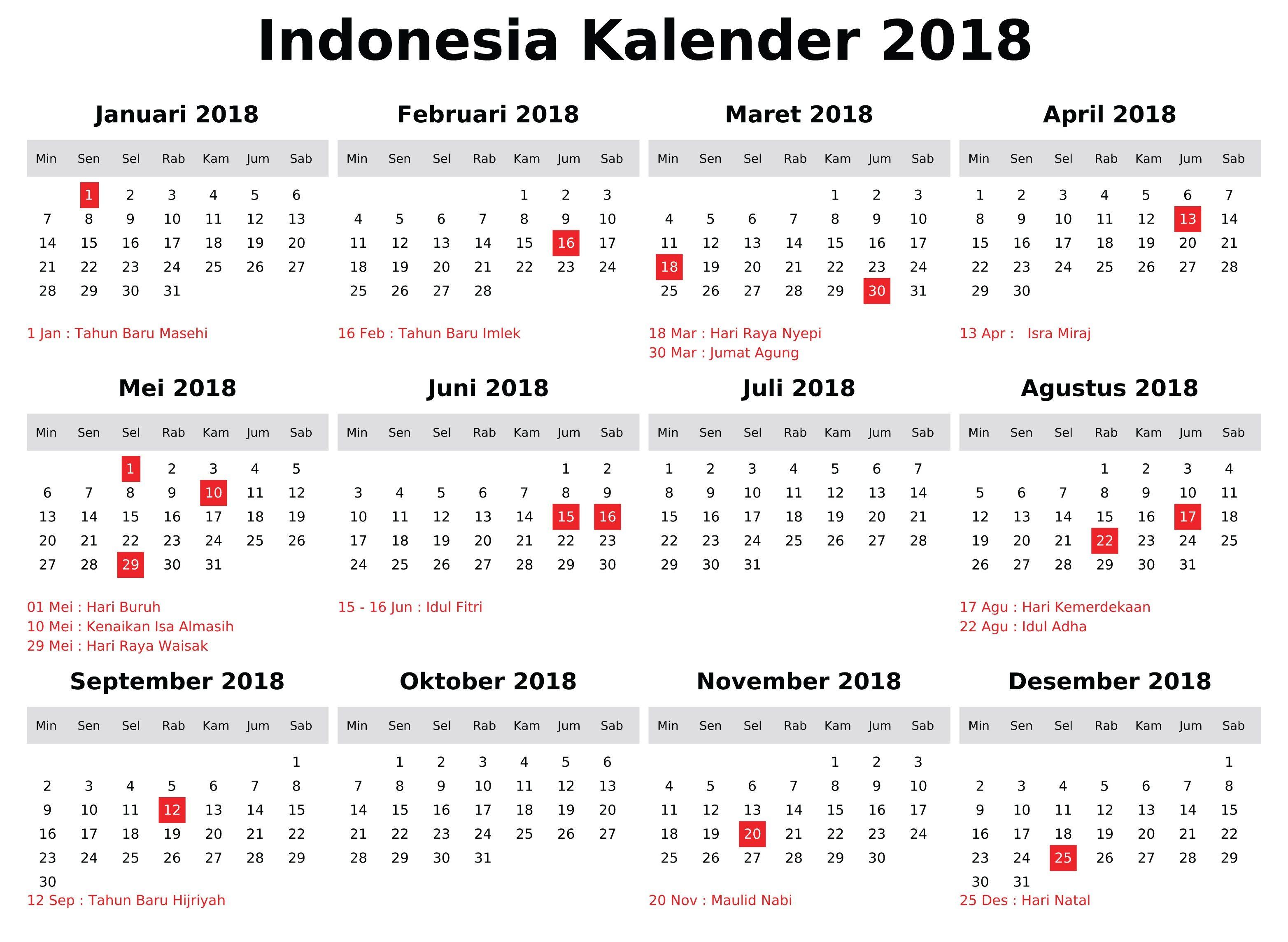 November 2018 Calendar Indonesia Calendar Indonesia November November Calendar Calendar Calendar 2018