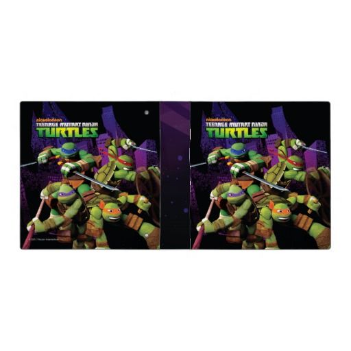 We Are Heroes TMNT Team Binder! #tmntbinders #nicktmnt For