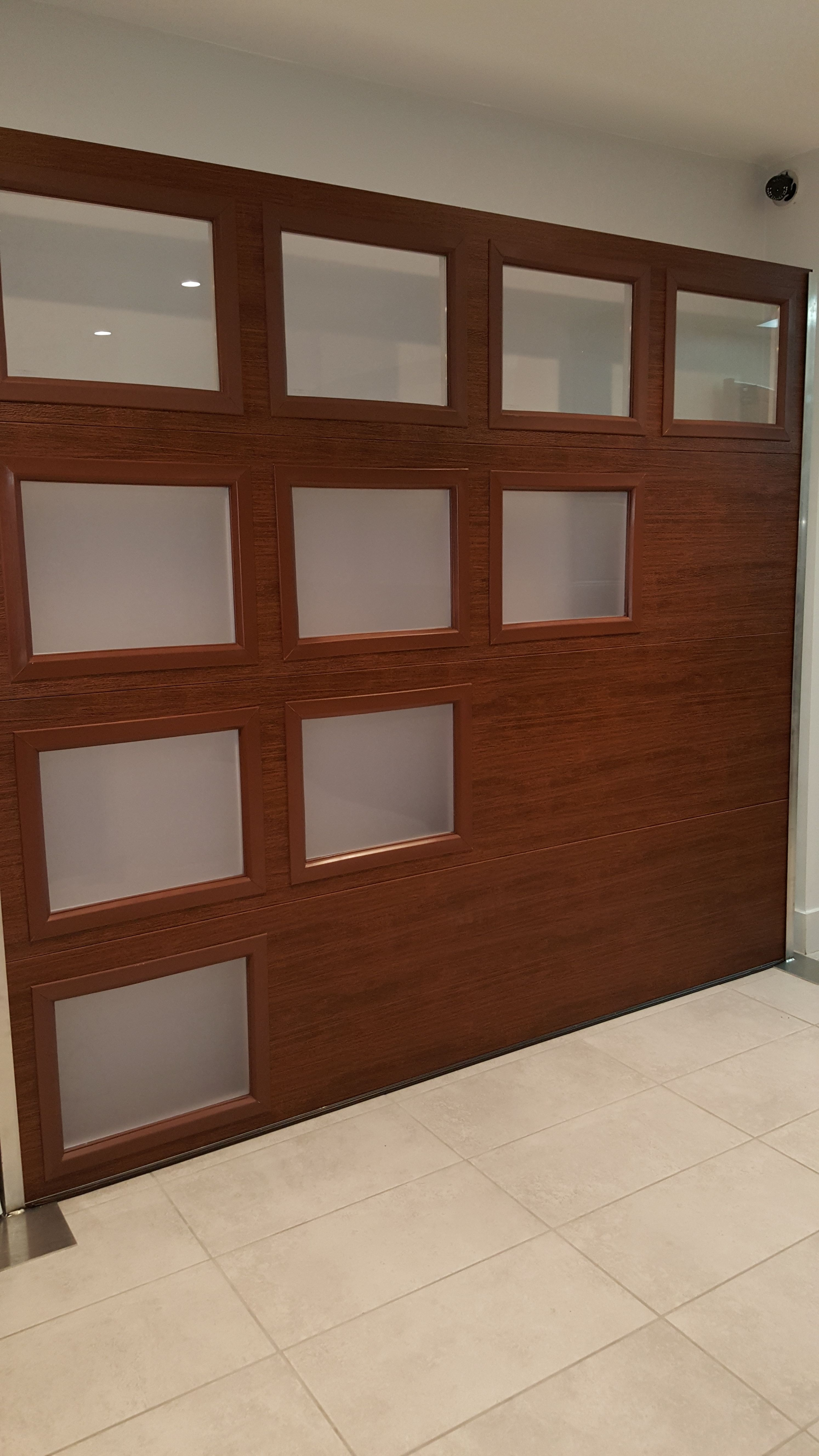 Clopay Modern Steel Collection Garage Doors With Faux Woodgrain