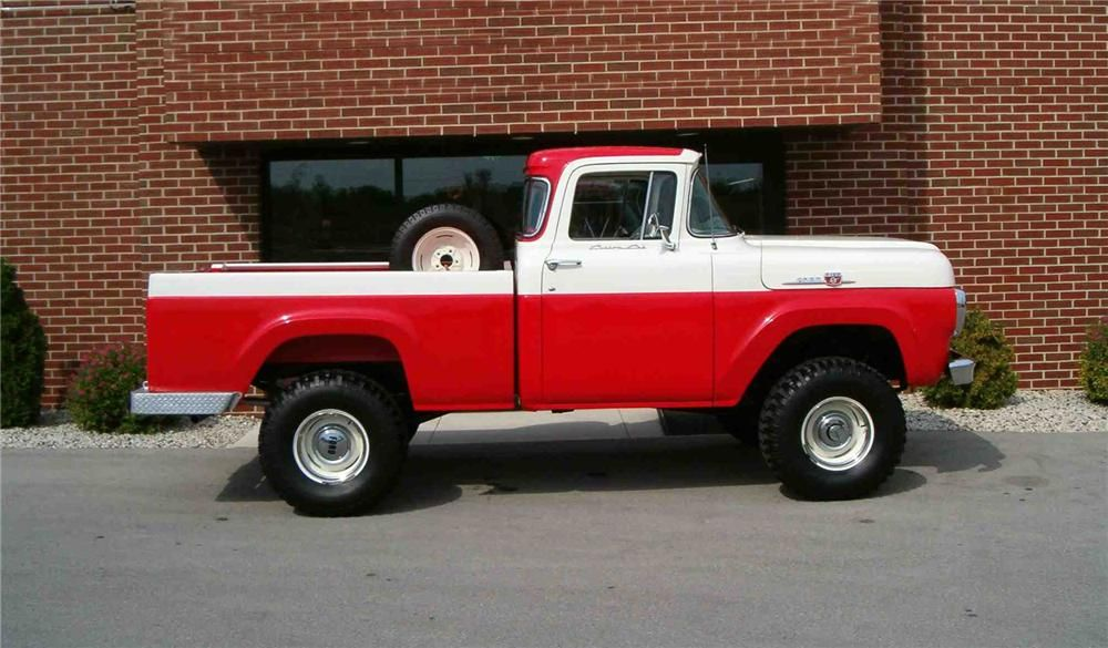 1959 FORD F-100 4X4 PICKUP - Barrett-Jackson Auction Company