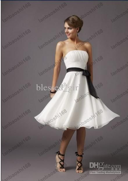 Wholesale Short Wedding Dress Cocktail Homecoming Prom Ball Party ...