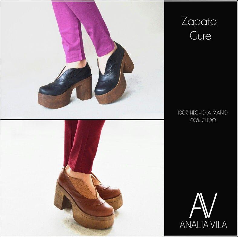Zapato Gure - 100% cuero