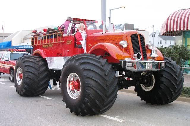 Monster Truck I Want One Lol Fire Trucks Pinterest