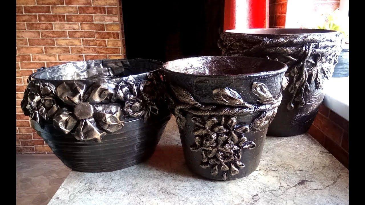 Вазоны из бетона своими руками: горшки, кашпо +75 фото