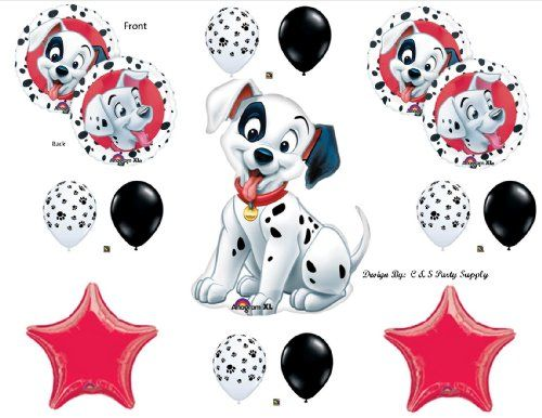 Anagram 101 DALMATIONS BIRTHDAY PARTY Balloons Decorations Supplies Disney Shower
