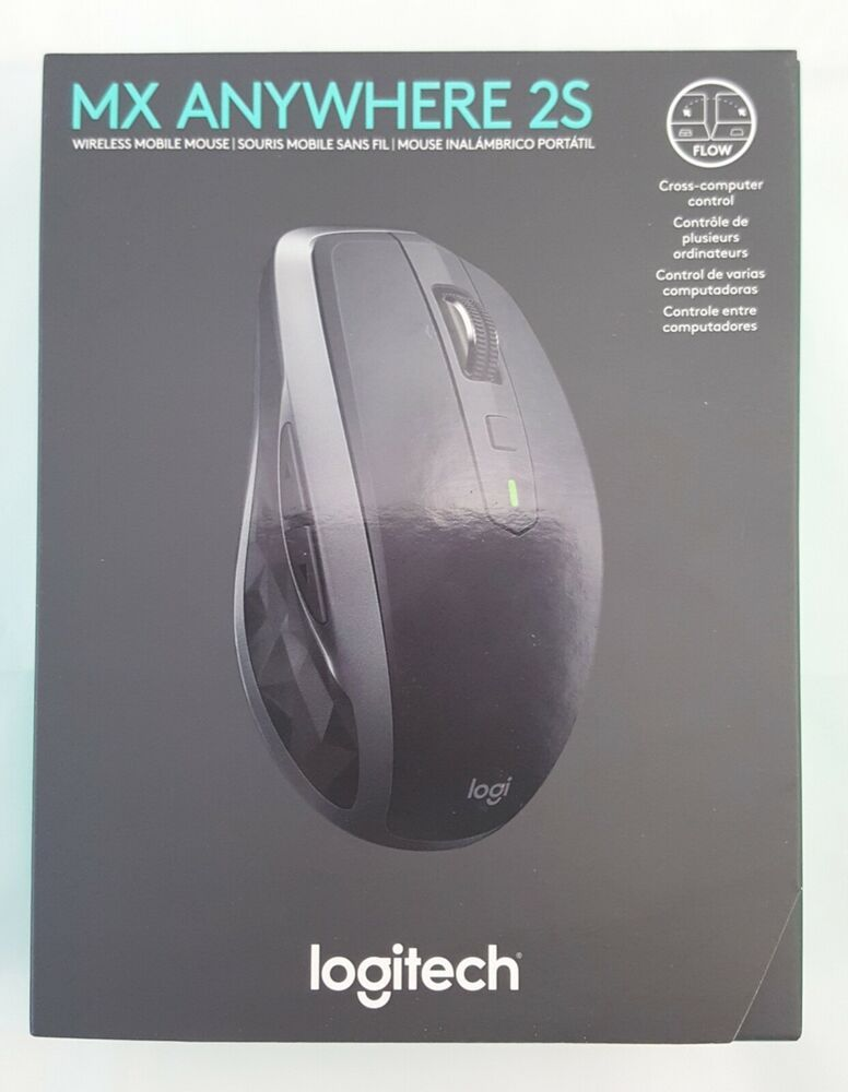 Logitech Mx Anywhere 2s Wireless Mobile Mouse New In Box Logitech Mobile Mouse Logitech Wireless