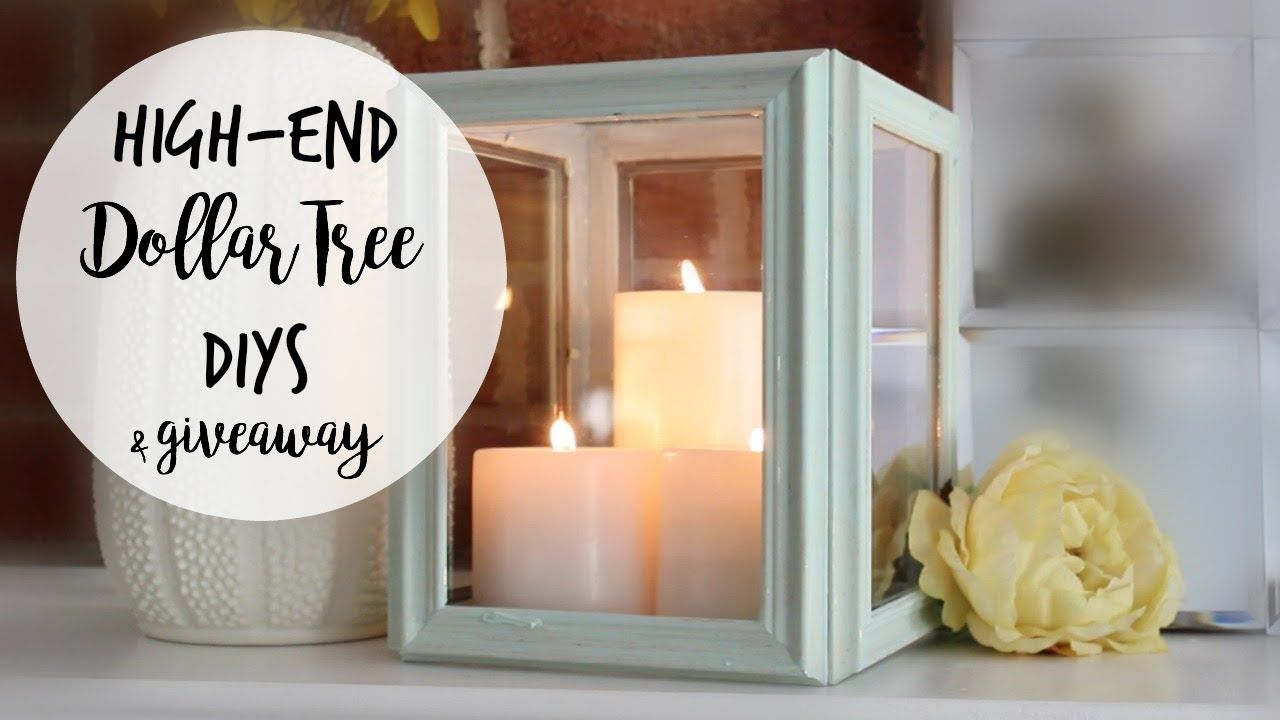 Here are three simple DIYs using all Dollar Tree products