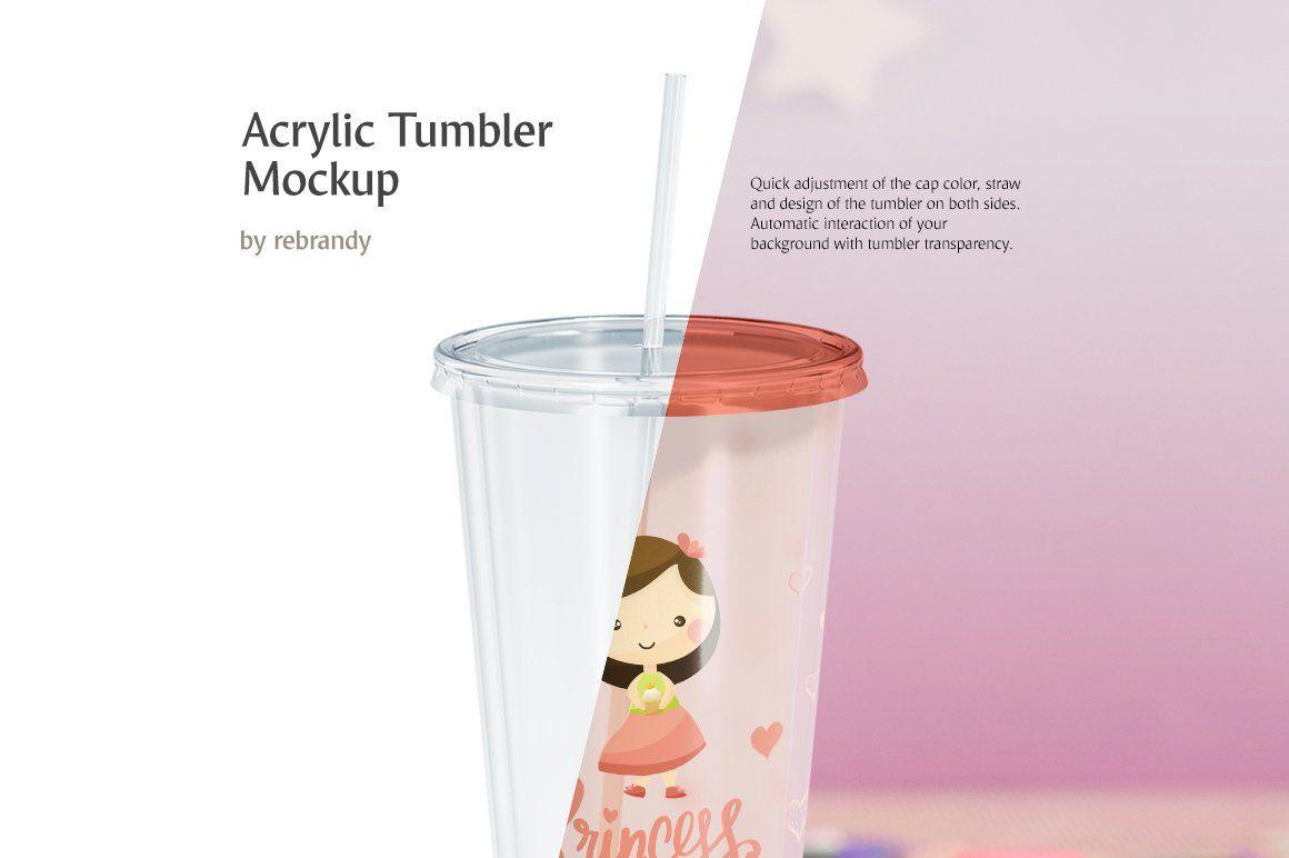 Download Acrylic Tumbler Mockup Free Packaging Mockup Design Mockup Free Mockup