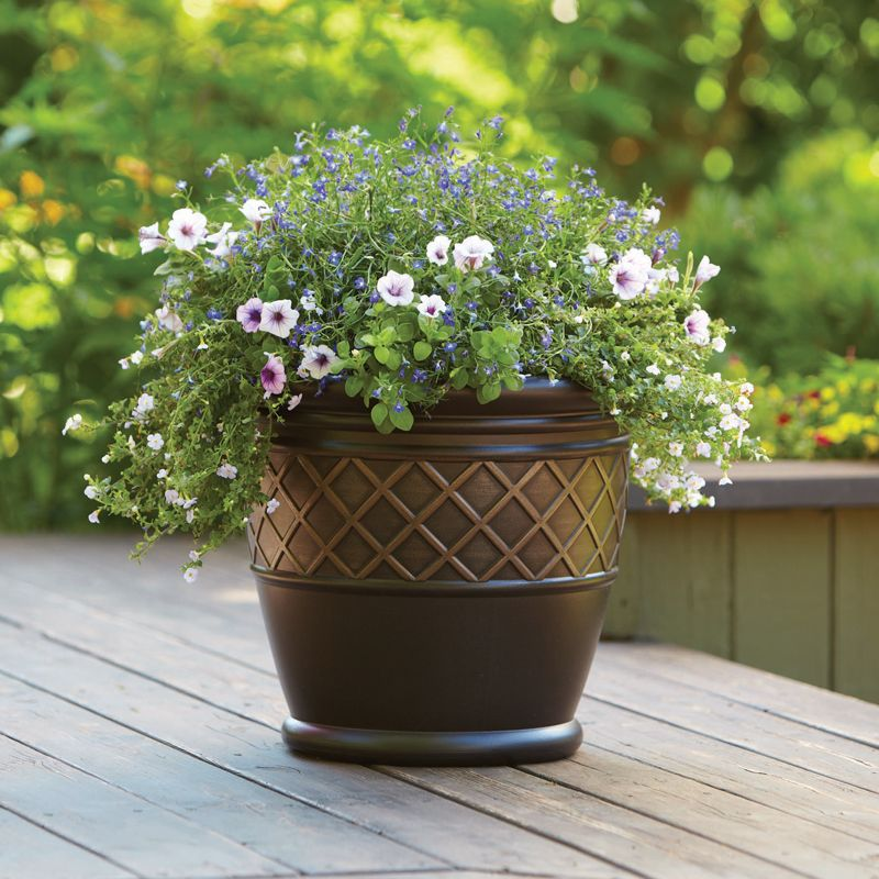 10b5313128b877ae14959d8b991f2797 - Better Homes And Gardens 18 Planter Brown