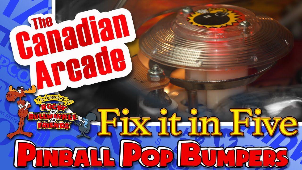 Fix It In Five - Data East Pinball Pop Bumper Repair