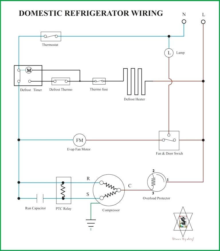 Samsung Fridge Compressor Wiring Diagram Refrigeration Diagrams Refrigerator  … | Trailer wiring diagram, Refrigeration and air conditioning, Basic electrical  wiring | Refrigerator Wiring Diagram |  | Pinterest