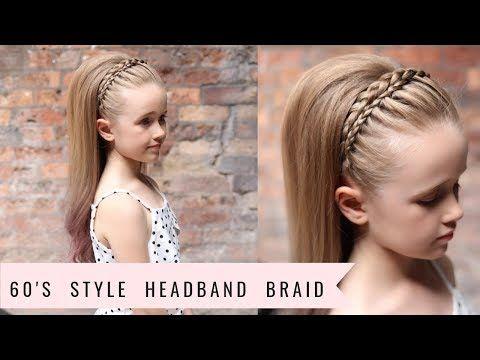11 Headband Braid 60 S Style By Sweethearts Hair Youtube