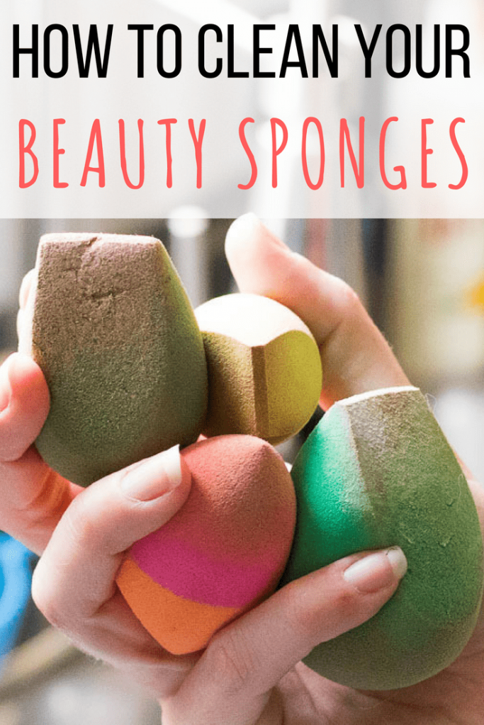 How to Clean Your Beauty Sponges Clean beauty blender