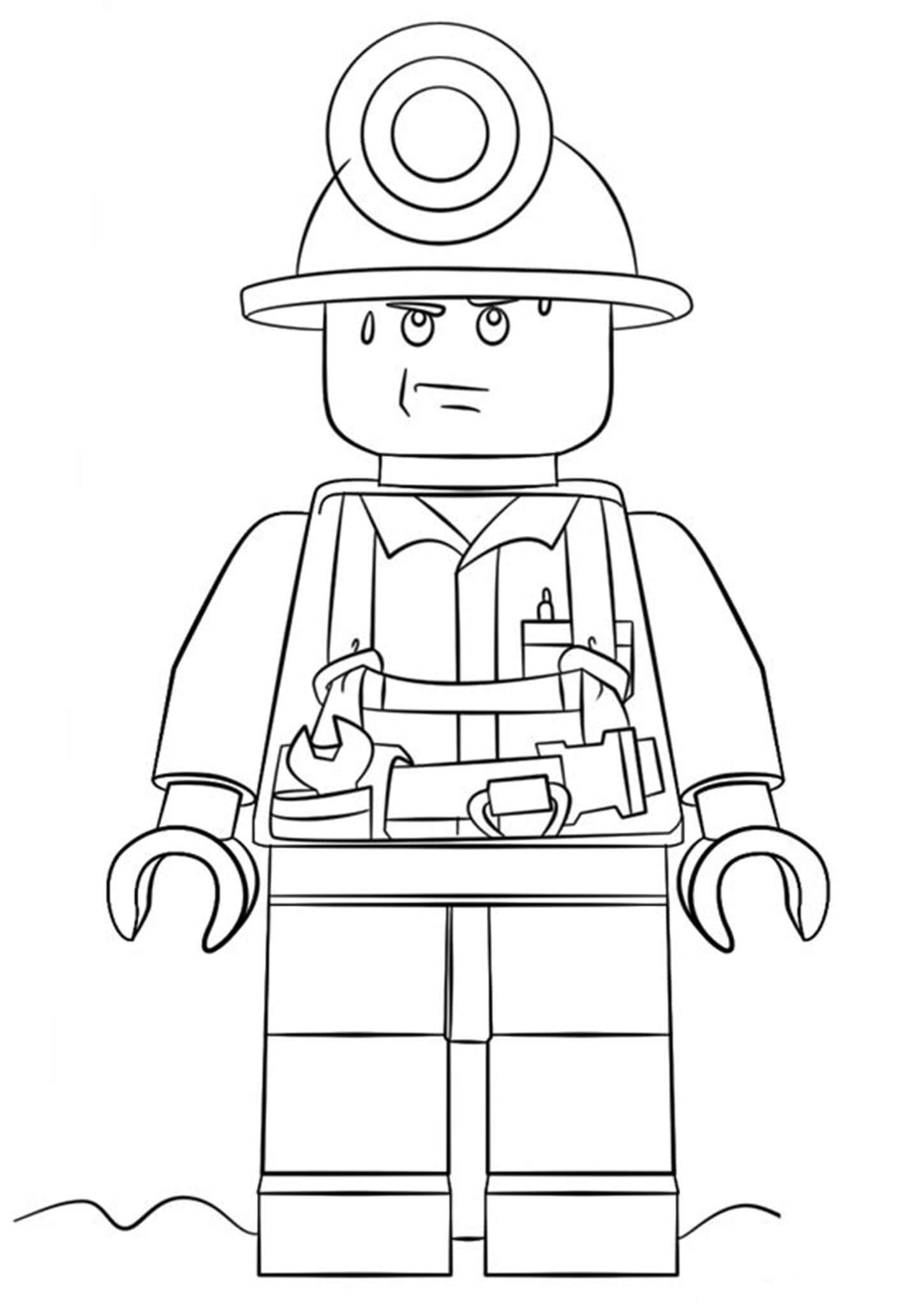 Free Easy To Print Lego Coloring Pages In 2020 Lego Coloring Lego Coloring Pages Kids Christmas Coloring Pages