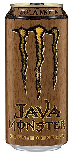Java Monster Coffee Energy Drink, Loca Moca, 15 Ounce (Pack of 12)