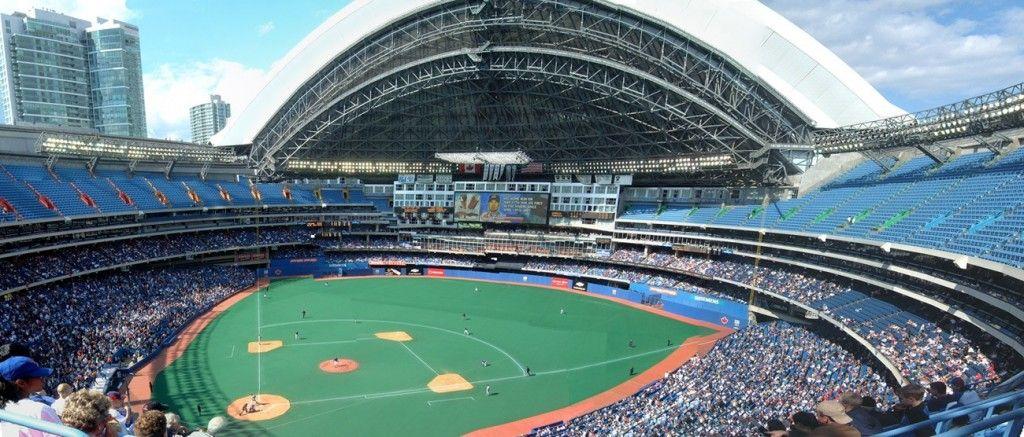 Beautiful construction of the toronto blue jays stadium ...