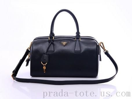 Authentic  Prada BL0796 Handbags in Black Outlet store  a6264276577ea