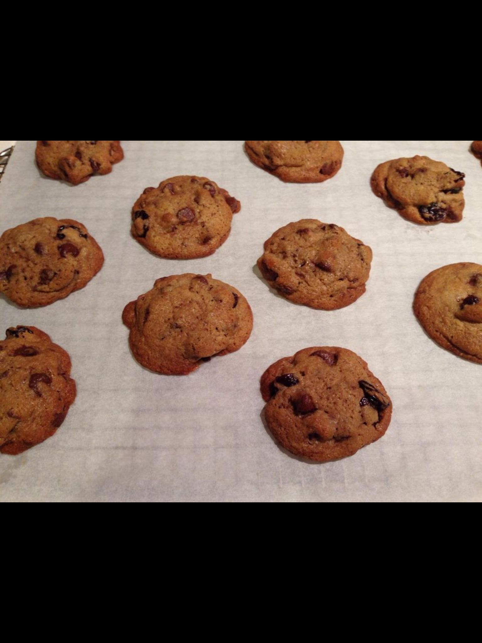 Cherry Chocolate Chunk Cookies Recipe — Dishmaps