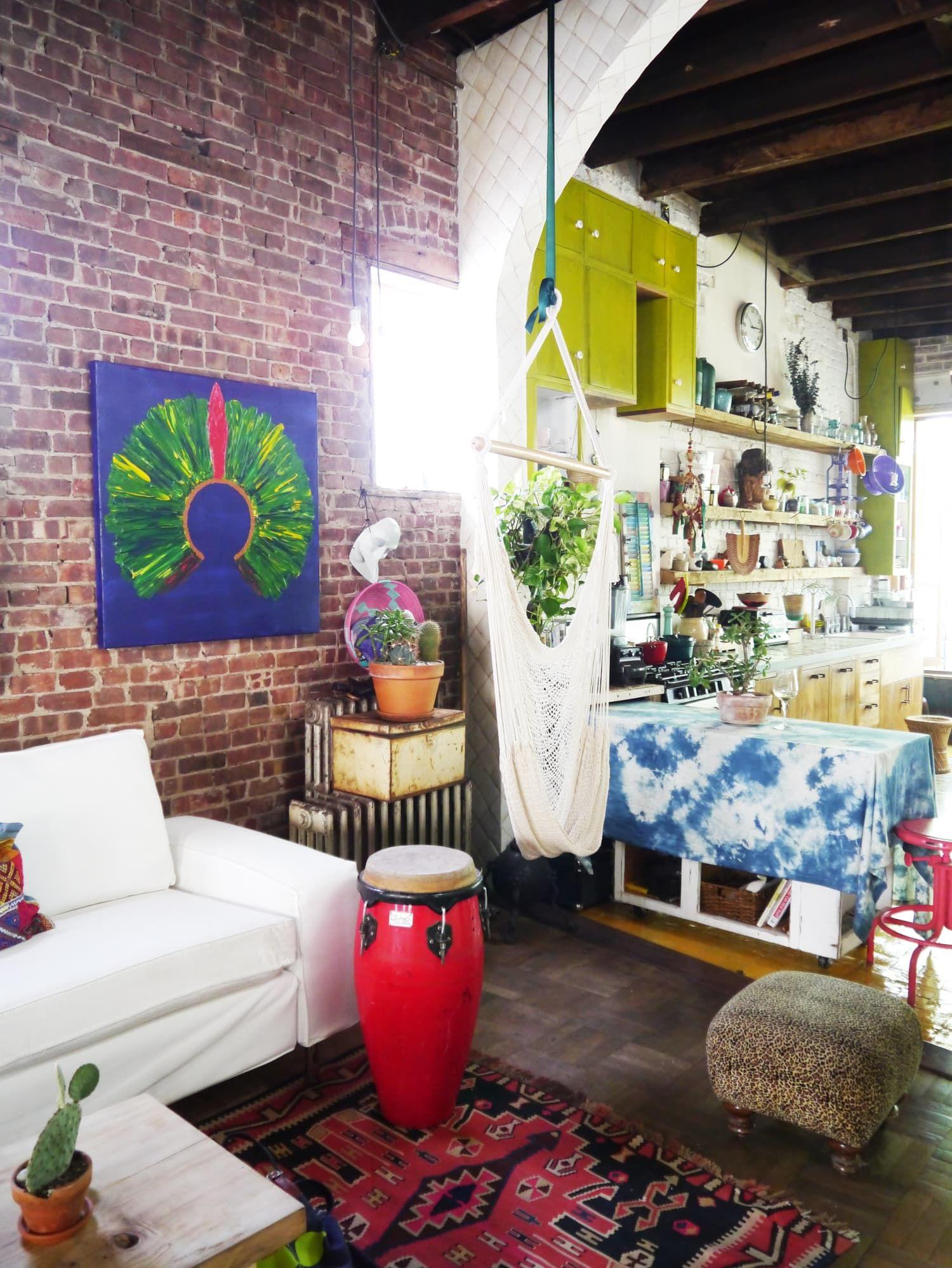 Sybil & Dan's Canopied Brooklyn Riad House tours, Home