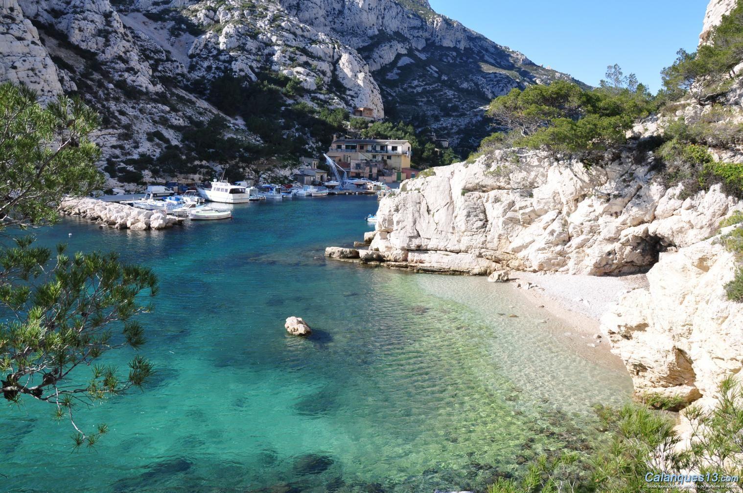 Marseille plage de morgiou france pinterest for Marseille bouche du rhone