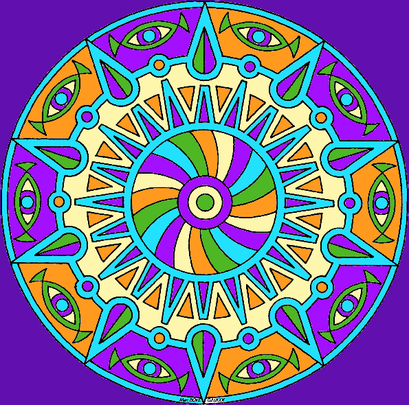 Mandala 011.  This coloring page can be found here: https://www.pinterest.com/centerca/mandala-coloring-pages
