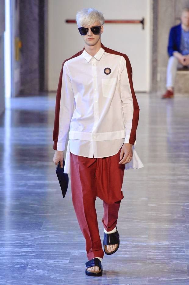 COOL CHIC STYLE to dress italian: Andrea Pompilio Spring / Summer 2015 men's
